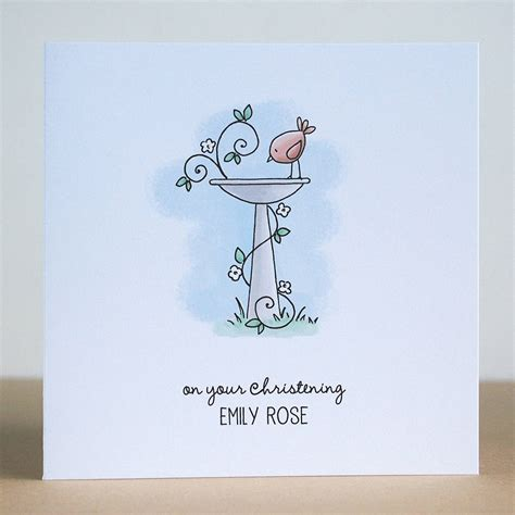 make personalised cards personalised christening greetings card by cloud 9 design