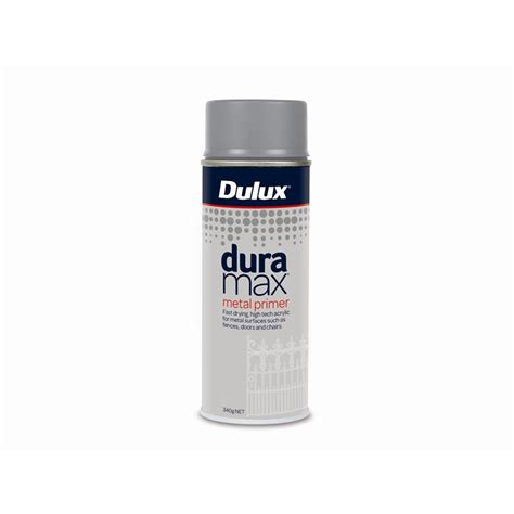 spray painter bunnings dulux duramax 340g metal primer spray paint bunnings