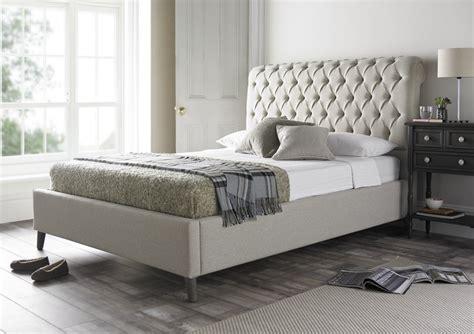 upholstered sleigh bed frame chester upholstered bed frame upholstered beds beds