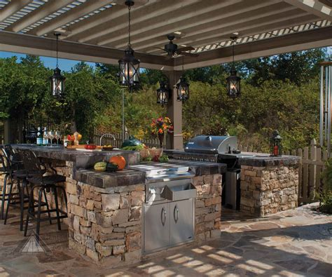 back yard kitchen ideas outdoor kitchens by premier deck and patios san antonio tx