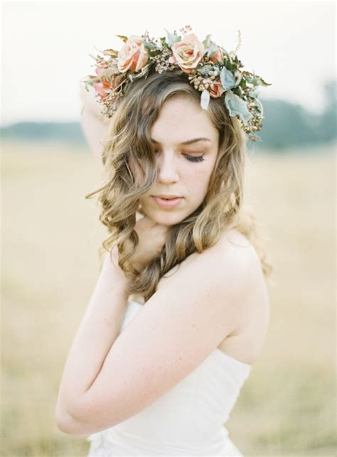 flower crown fabulous flower crowns the bridal hair accessory