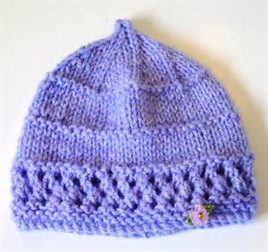free knit baby hat patterns my free patterns algerian