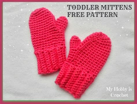 how to knit toddler mittens my hobby is crochet crochet toddler mittens ceyla free