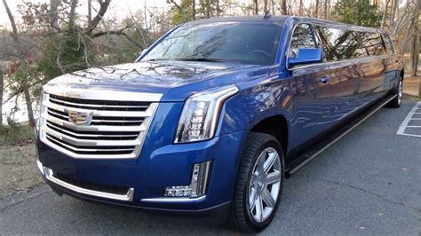 Cadillac Escalade Blue brand new blue stretch cadillac escalade