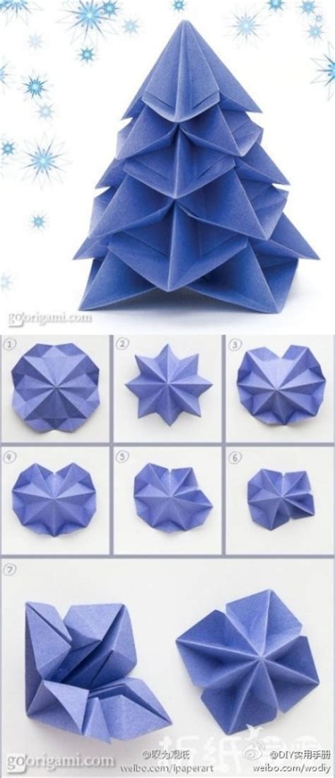 how to make crafts with paper how to make paper craft origami trees step by