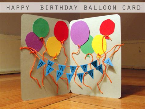 make your birthday card easy diy birthday cards ideas and designs