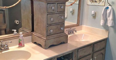 chalk paint franklin tn bathroom vanity makeover with sloan chalk paint