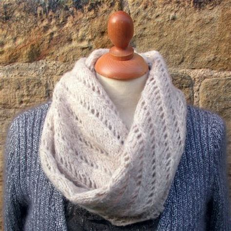 free knitting pattern for snood scarf free snood pattern rowan lazy lace snood knit