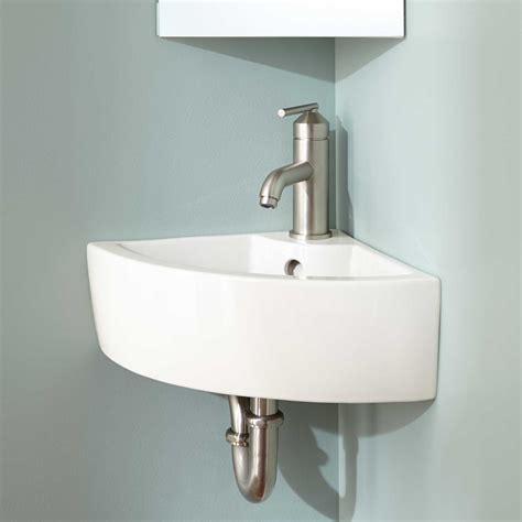 wall mount kitchen sink amelda porcelain wall mount corner bathroom sink wall