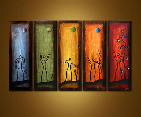 paint on canvas abstract painting canvas 3574