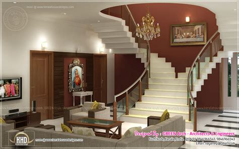 home interior design plans beautiful home interior designs by green arch kerala
