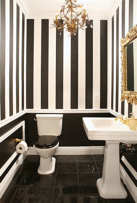Black And White Bathroom Decor Pictures by Black And White Bathrooms Design Ideas Decor And Accessories