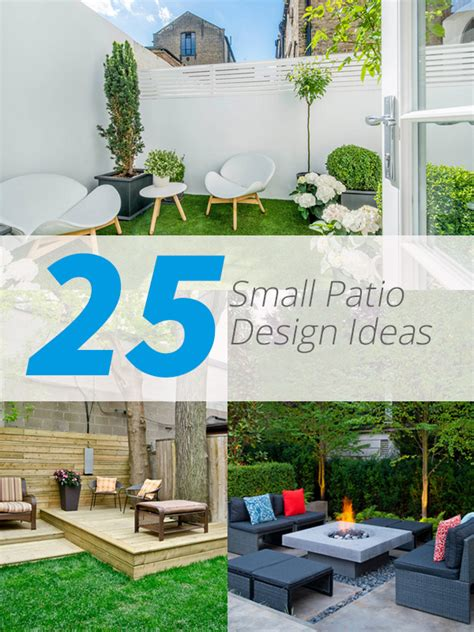 small patio 25 practical small patio ideas for outdoor relaxation
