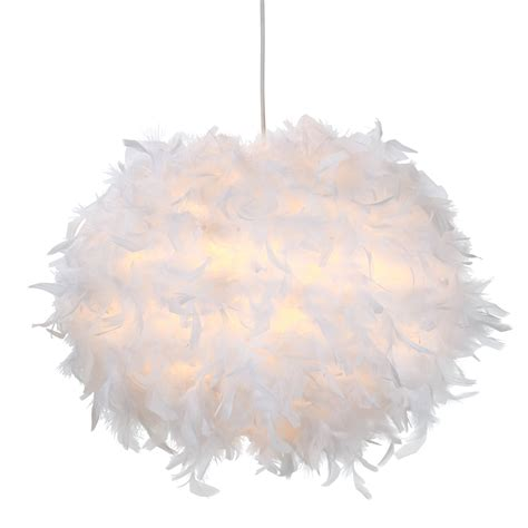white feather lights colours melito white feather light shade d 400mm