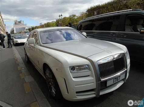 Rolls Royce Limited by Rolls Royce Mansory White Ghost Limited 6 Septembre 2015