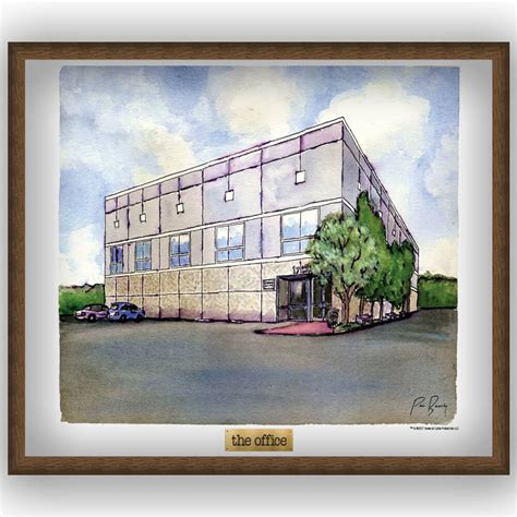 the office the office pam s watercolor poster