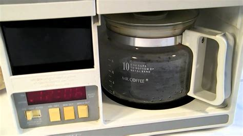 MR.COFFEE COMPACT UNDER THE CABINET COFFEEMAKER   YouTube