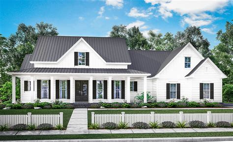 farm house designs three bed farmhouse with optional bonus room 51758hz architectural designs house plans