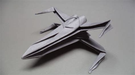 Paper Airplanes How To Fold An Origami X Wing Fighter