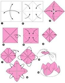 easy origami lotus un origami facile fleur 224 offrir ou pour vous amuser