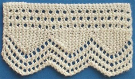 knitted edgings patterns free even more knit lace trim and edgings free patterns