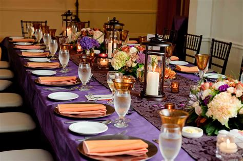 orange and purple decorating ideas helpp color and theme dilemma the knot