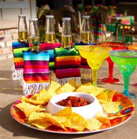 mexican themed mexican themed food and drinks home theme ideas