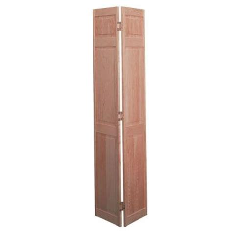 bifold closet doors home depot masonite smooth 6 panel solid unfinished pine
