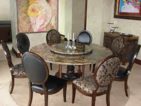 Round Dining Room Table Seats 8 custom made natural stone table modern dining room
