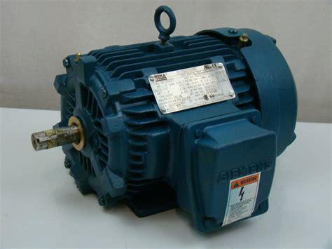 Siemens Electric Motors by Siemens 1 5 Hp 460v Electric Motor 1la014423341 Ebay