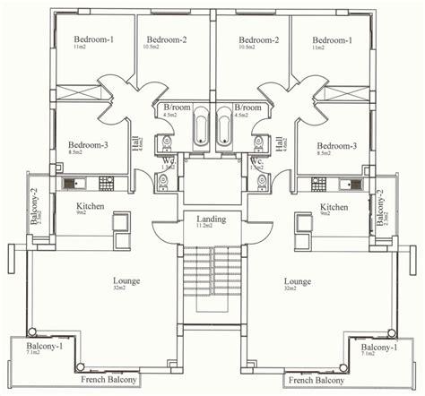 3 bedroom floor plan cyprus apartment property kyrenia court suites iv v