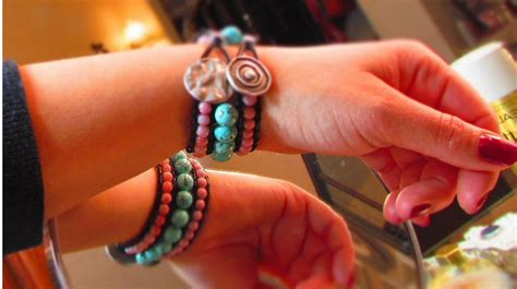 how to make a beaded cuff chic beaded cuff bracelet 3 row diy