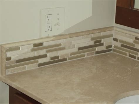 Glass Backsplashes For Kitchens Pictures simple vanity backsplash traditional other metro by