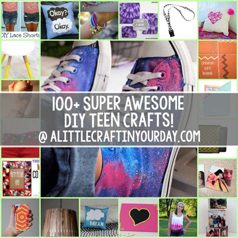 easy craft projects for teenagers 100 awesome crafts for a craft in