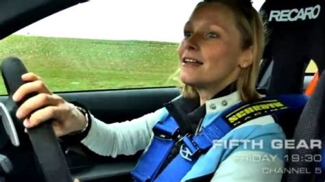 Vicki Fifth Gear by Vicki From Fifth Gear Takes Bmw S M3 Gts Out For