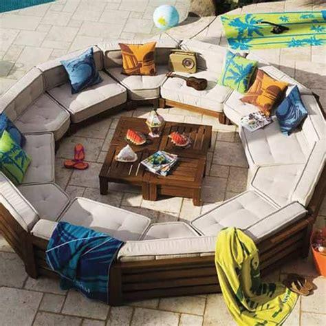 circular outdoor furniture outdoor sofa circle furniture design