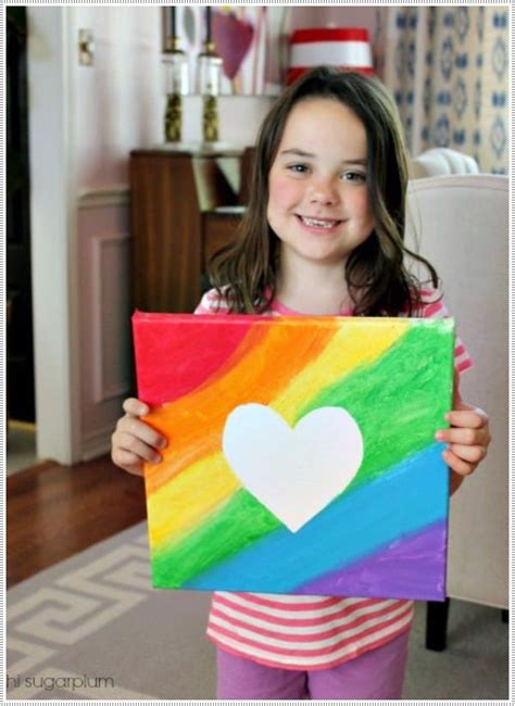 ideas for children 40 awesome canvas painting ideas for