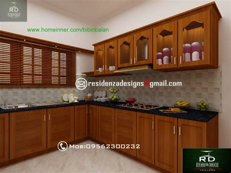 interior home design kitchen kerala kitchen interior designs by residenza designs