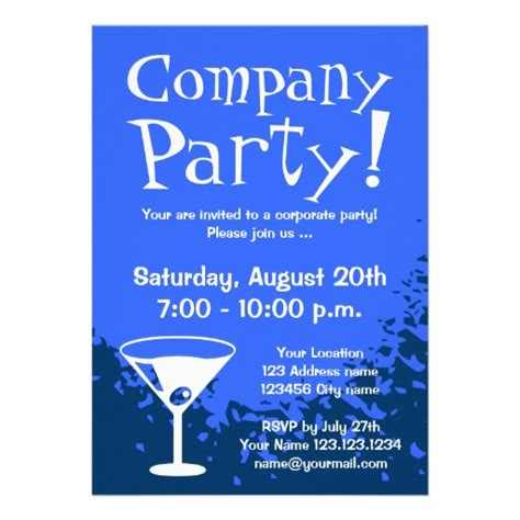 company invitation wording corporate invitations
