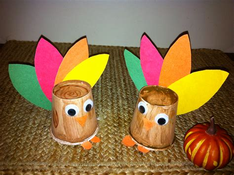 paper cup turkey craft paper cup turkey crafts