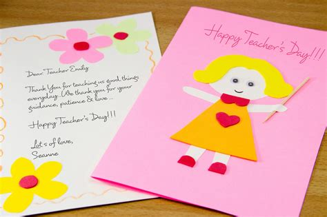 how to make day card the gallery for gt handmade teachers day cards ideas