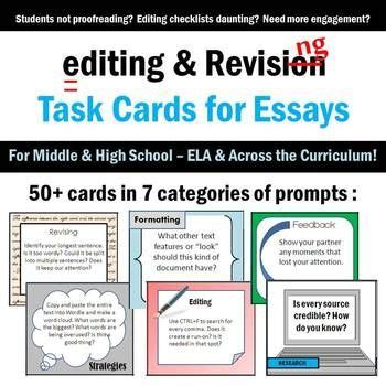 make your own revision cards 17 best images about teaching writing revisions on