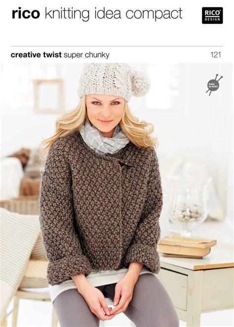 chunky cardigan knitting pattern free cardigans in creative twist chunky 121
