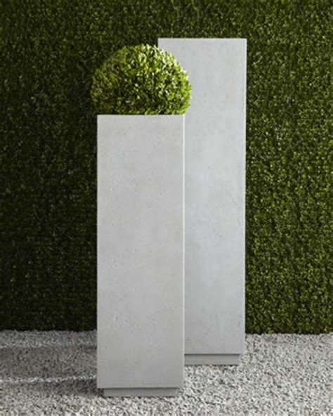 square planter modern square planters modern outdoor pots and