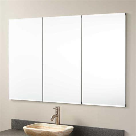 bathroom medicine cabinet with mirror 48 quot furview recessed mount medicine cabinet bathroom