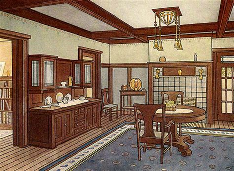 craftsman style woodwork millwork in arts crafts style homes arts crafts