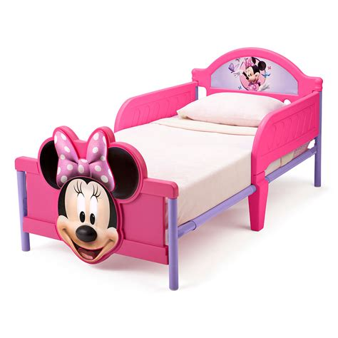minnie mouse toddler bed frame disney minnie mouse 3d toddler bed toys quot r quot us australia