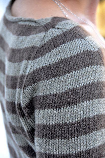 method of knitting sweater contiguous set in sleeves free sweater pattern by isabell