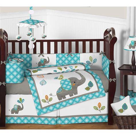 sweet jojo designs crib bedding sweet jojo designs mod elephant 9 crib bedding set