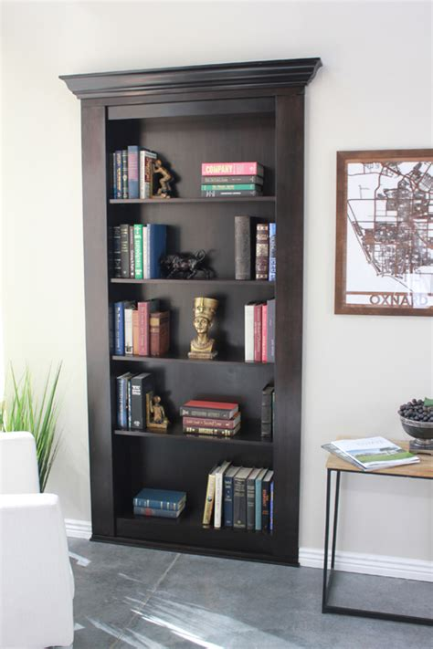 bookcase plans with doors how to build a bookcase with doors image mag